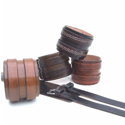 Bracelets de force 2 bandes 5,5 cm
