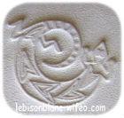 dessin lézard 2 embossé sur cuir naturel tanné vegetalement personnalisation de bracelet pendentif personnalisé boucle de ceinture en cuir ceinture sans boucle
